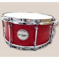 "13"" x 6"" Birdseye Maple over Maple 13ply Snare Drum"