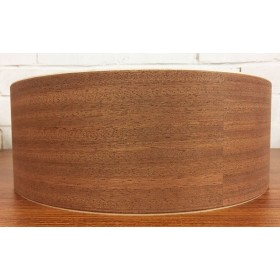 African Mahogany Bass Drum Shells