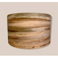"""14"""" x 8"""" Red Gum Over Walnut Snare Shell"""