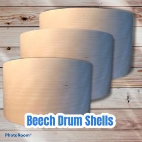 """Beech 12"""" Snare Drum Shells"""