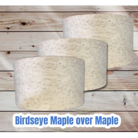 Birdseye Maple Drum Shells