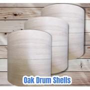 Oak Drum Shells