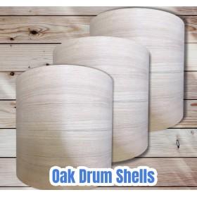 Oak Bass Drum Shells