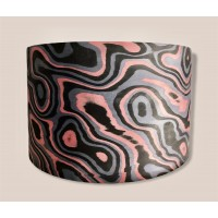 """14"""" x 8"""" 20ply Camouflaged Pink Zebra over USA Maple"""