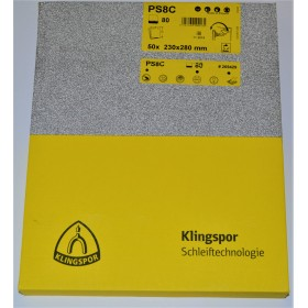 Klingspor PS8A and PS8C Sanding Sheets
