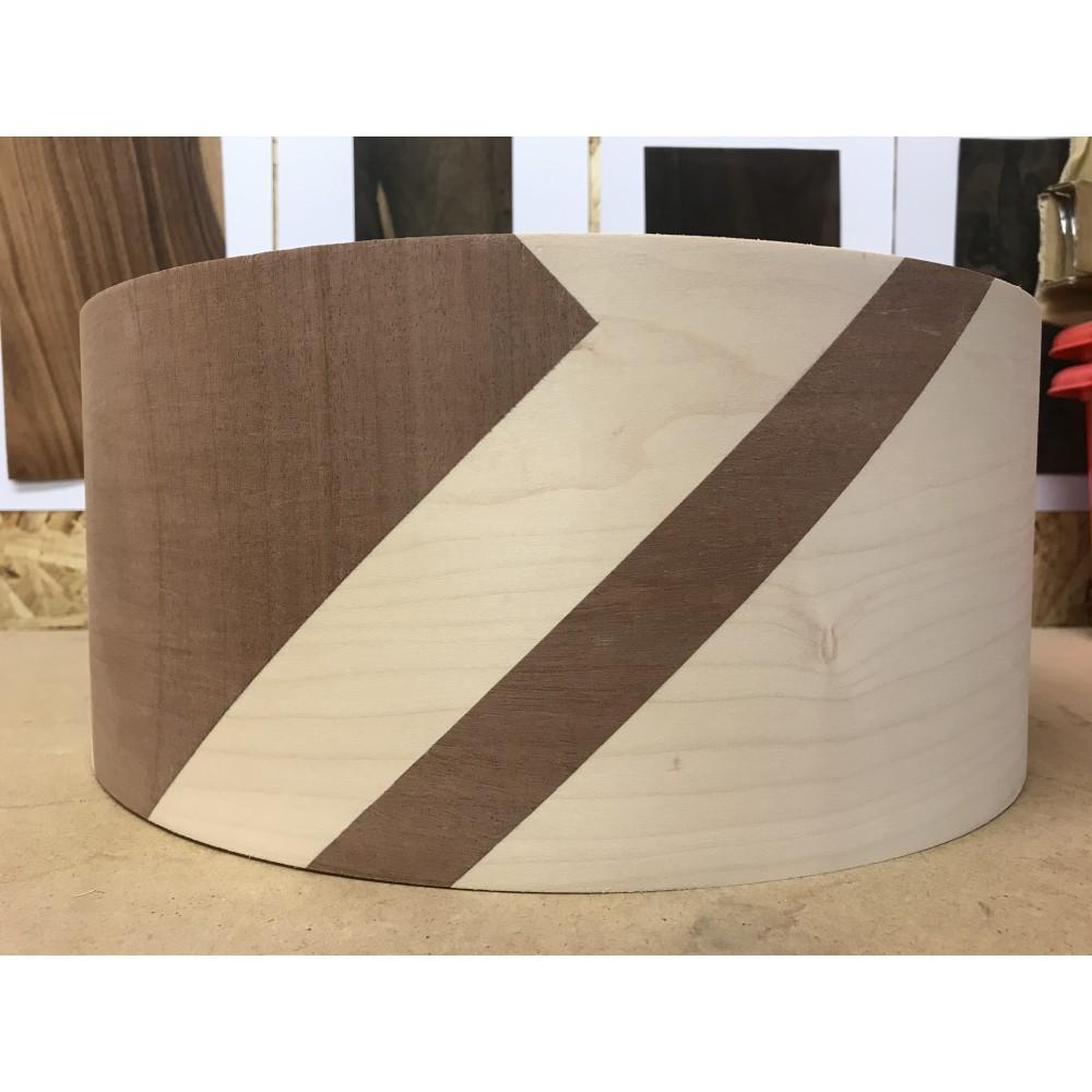 Maple and Mahogany Shell