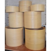 Raw Drum Shells