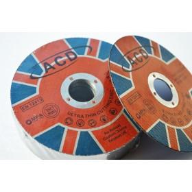 """115mm (4.5"""") x1mmx 22mm Bore Ultra Thin Metal Cutting Discs"""